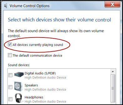 Opravte problémy se zvukem v systému Windows 8
