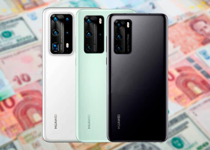 Huawei sníží ceny Huawei P40