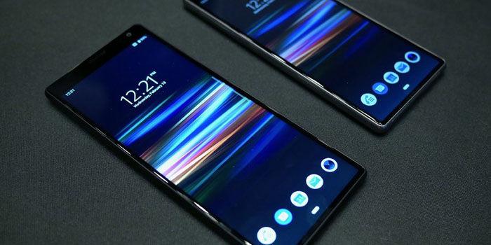 obrazovky sony xperia 10 a 10 plus