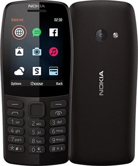 Nokia 210 2019 má 2G konektivitu a slot pro dvě SIM karty