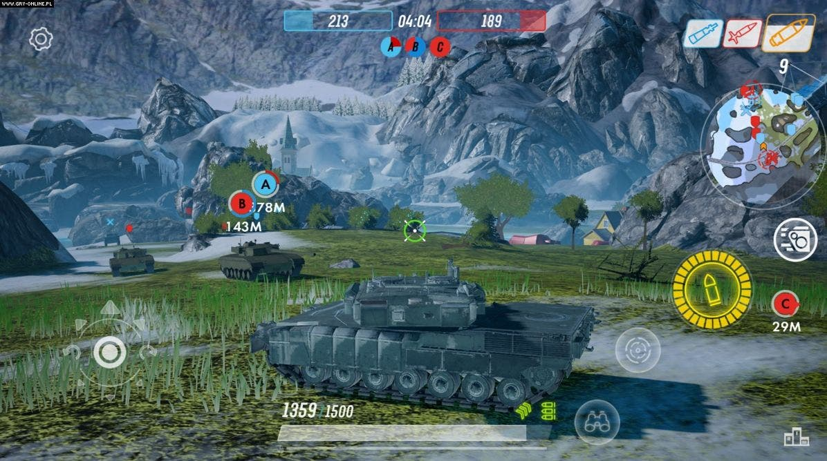 Armored Warfare: Assault pro Android