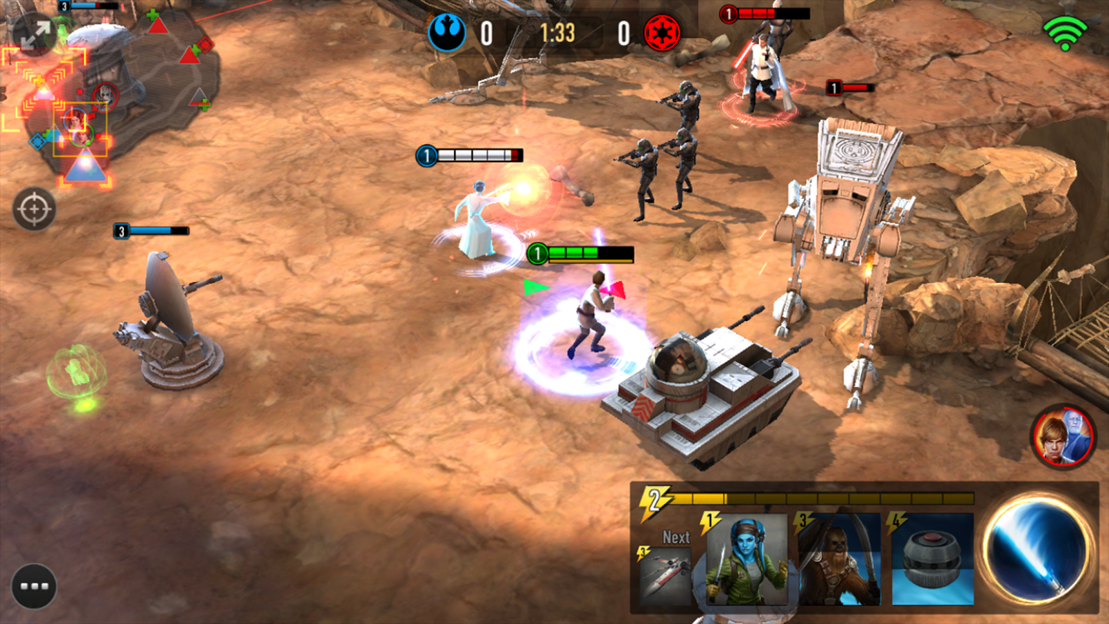 Hra Star Wars Force Arena