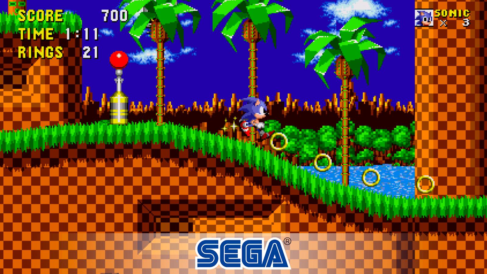Hra Sonic The HedgeHog