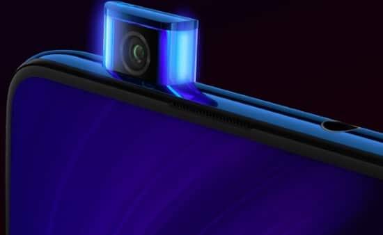 Xiaomi Redmi K20 Pro má 20 MP výsuvnou selfie kameru s bočním osvětlením