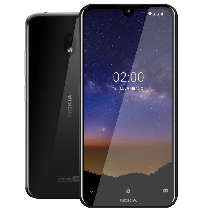 Nokia 2.2 přichází s až 32 MB úložného prostoru a kapacitou 3000 mAh
