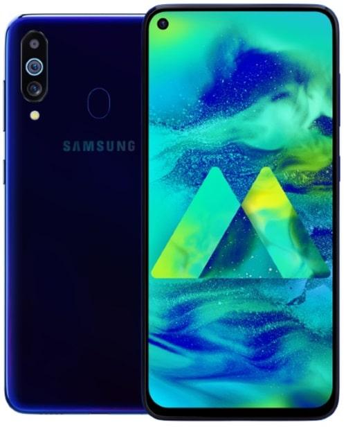 Samsung Galaxy M40 přichází ve stylovém designu s 6,3palcovým perforovaným displejem