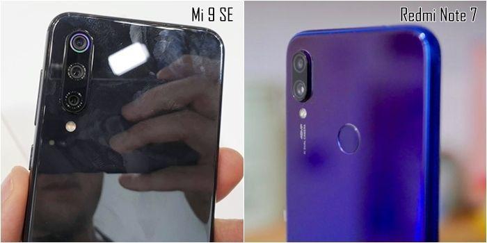 Fotoaparáty Xiaomi Redmi Note 7 a Xiaomi Mi 9 SE