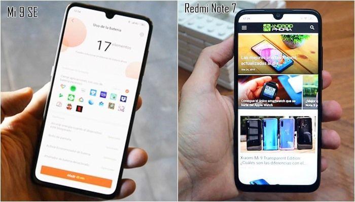 Obrazovky Xiaomi Redmi Note 7 a Xiaomi Mi 9 SE