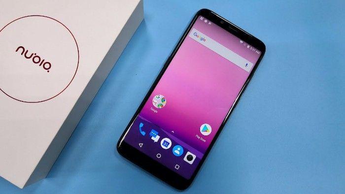 Mobilní telefony Nubia V18 za méně než 150 eur