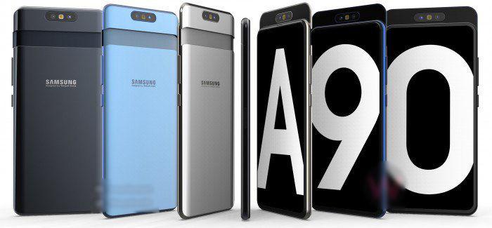 Uváděcí cena Galaxy A90