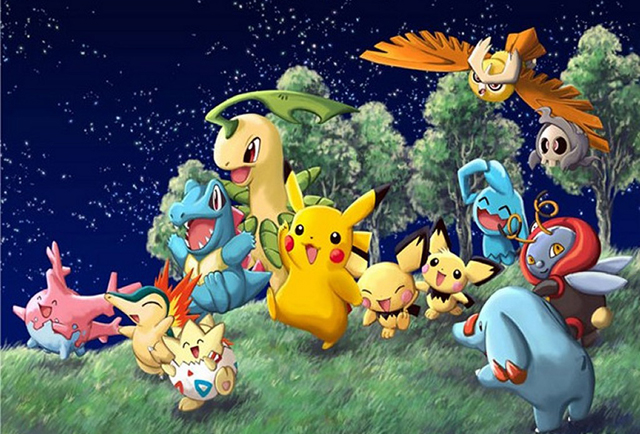 Pokémon GO druhé generace.