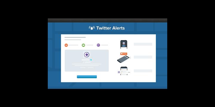 Dostávejte upozornění na Twitter, nouzová hlášení a upozornění na katastrofy