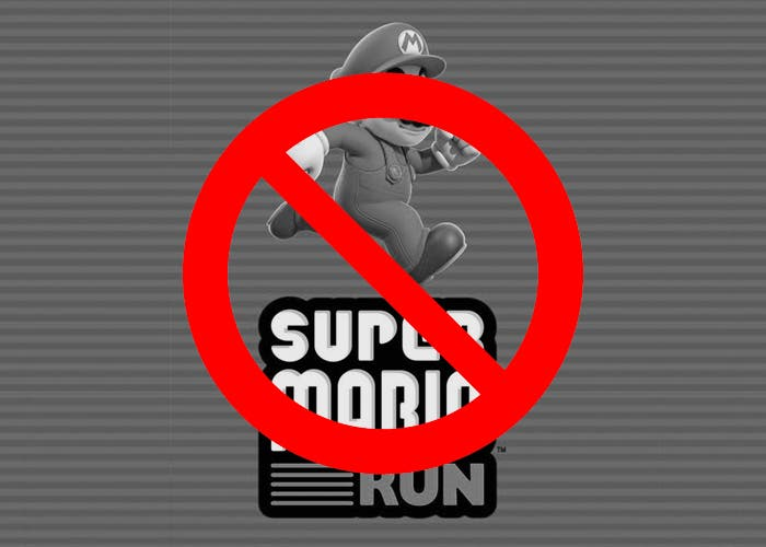 žádný super mario běh