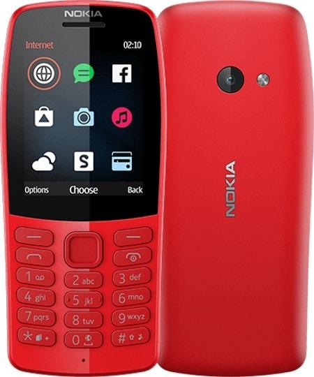 Nokia 210 2019 je nový klasický mobilní telefon a přichází také v červené barvě