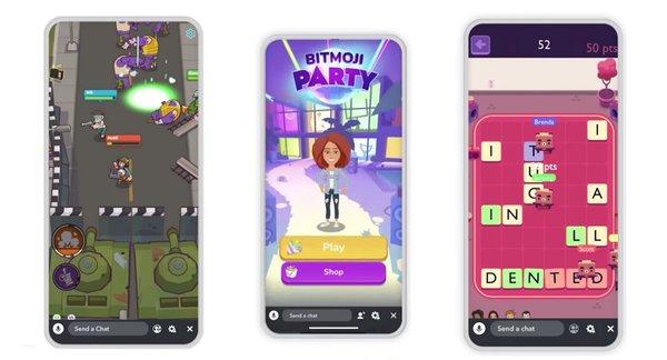 Nová platforma Snapchat nabízí hry podobné Mario Party.