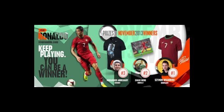 Nová sociální síť Cristiana Ronalda Viva Ronaldo