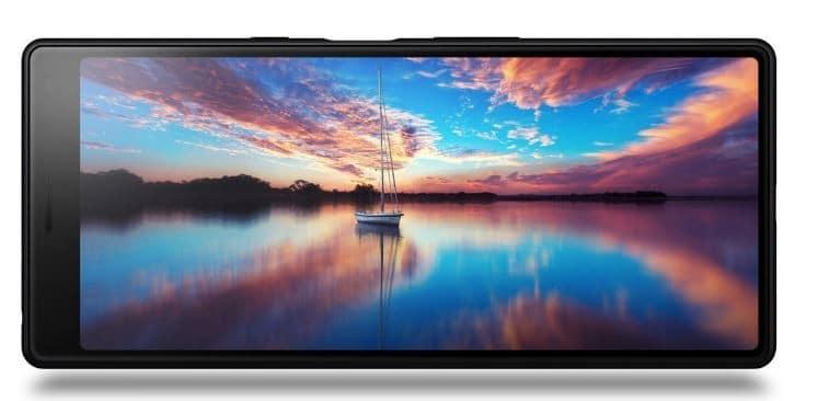 Sony Xperia 10 má velmi vysokou obrazovku 21: 9
