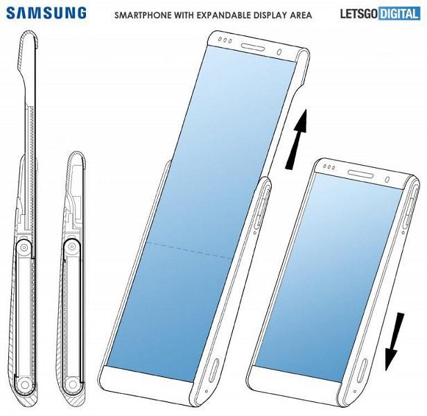 Společnost Samsung vyvinula smartphone s posuvnou obrazovkou