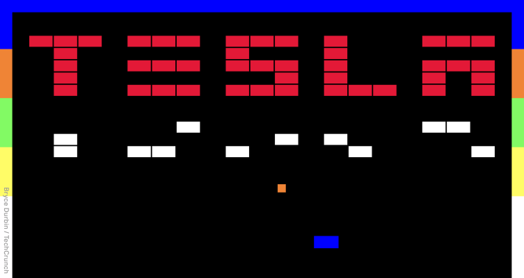 Tesla vydává nové hry Atari jako součást své funkce ...