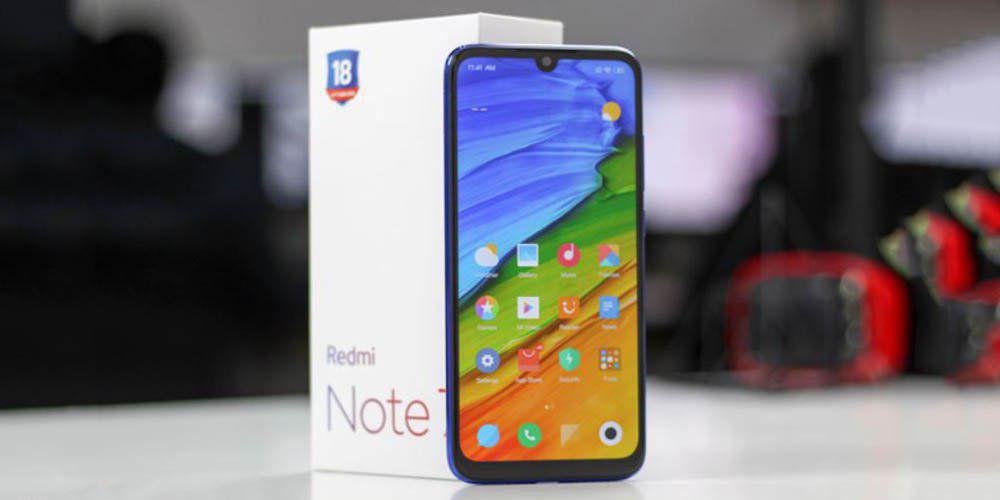 Spuštění Redmi Note 7 Pro